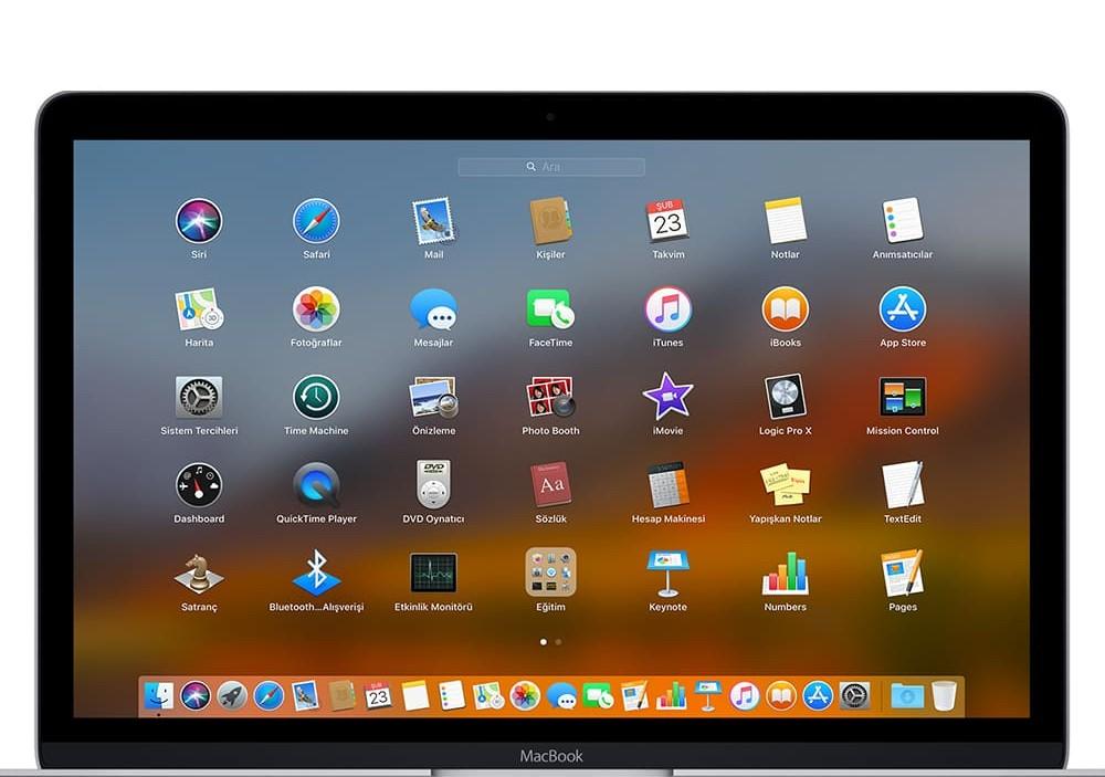 MacOS ve Macbook Pro